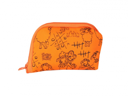 Pumpentasche Shaun das Schaf orange